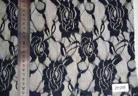 Silk Brukat hitam 1602
